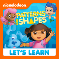 Nickelodeon - Let's Learn Patterns And Shapes 2012 iTunes Cover
