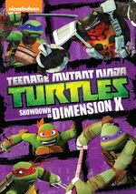 Teenage Mutant Ninja Turtles Showdown in Dimension X DVD