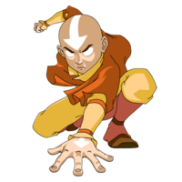 Aang in Avatar State