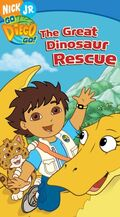 Go Diego Go! The Great Dinosaur Rescue VHS