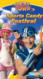 LazyTown - Sports Candy Festival VHS Cover