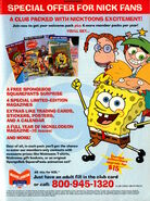 Nickelodeon Magazine Presents advertisement May 2004