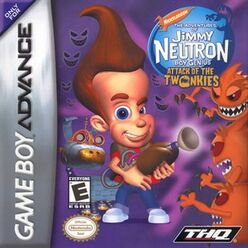 The Adventures of Jimmy Neutron Boy Genius - Attack of the Twonkies for GBA