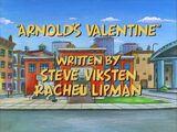 Arnold's Valentine