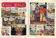 Nickelodeon Magazine Fiona of the Felines April 2000