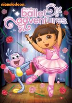Dora the Explorer Dora's Ballet Adventures DVD