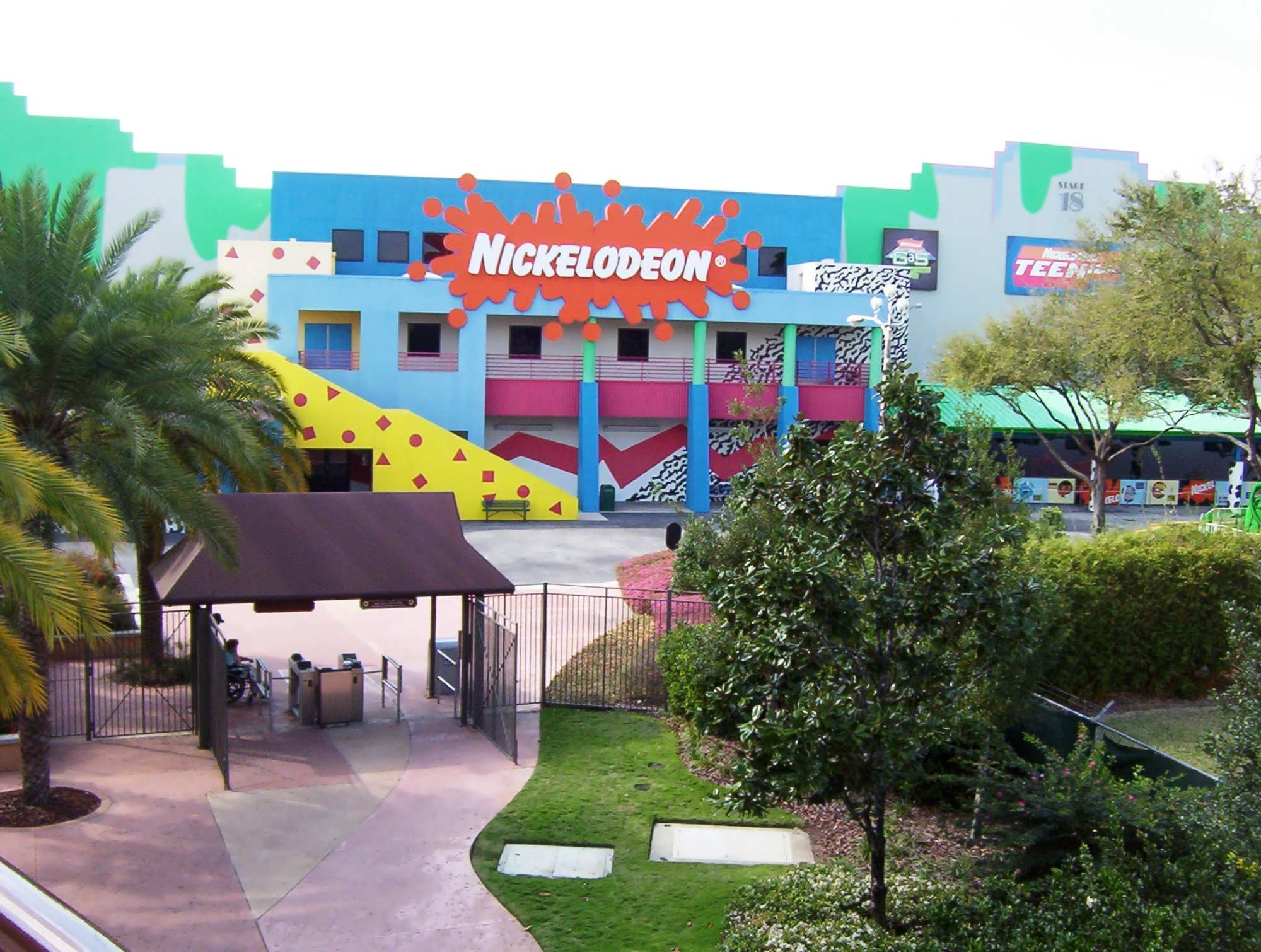 Nickelodeon Studios in Hard Rock Cafe