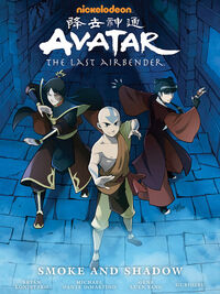 Avatar The Last Airbender Smoke and Shadow Book