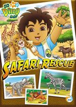 Go Diego Go! Safari Rescue DVD
