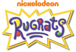 Rugrats logo (with 2009 Nickelodeon wordmark)