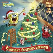 SpongeBob Plankton's Christmas Surprise! Book