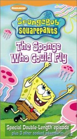 SpongebobVHS TheSpongeWhoCouldFly