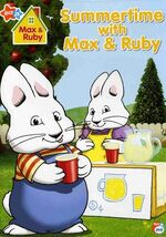 Max & Ruby - Summertime With Max & Ruby DVD Cover