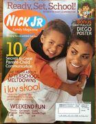 Nick Jr Family Magazine cover Sept 2005