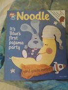 Nick Jr. Magazine Noodle Fall 1999