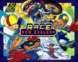 Rocket Power Race Across New Zealand Book