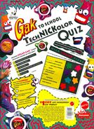 Gak to School print ad Nick Mag Oct Nov 1994