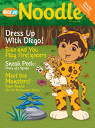 Nick Jr Magazine Noolde cover Oct 2005