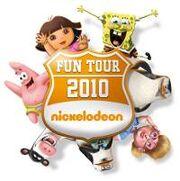 NICKELODEON FUN TOUR LOGO