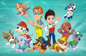 PAW Patrol main characters cast