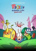 Rocko's Modern Life Static Cling poster 2