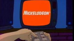 A Nickelodeon ID from 1991, recycling footage from the pilot
