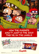 Rugrats movie Campbells soup print ad Nick Mag Nov 1998