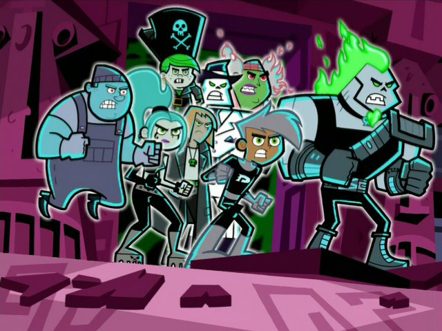 File:Danny with his ghostly enemies.jpg