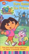 Dora the Explorer Dora Saves the Prince VHS