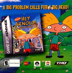 Nickelodeon Magazine June July 2002 Hey Arnold movie Gameboy advertisement