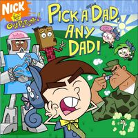 Fairly OddParents Pick a Dad Any Dad! Book