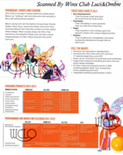Nickelodeon Consumer Products Winx Club Program 2011-2013