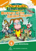 The Wild Thornberrys Heroes of the Animal Kingdom DVD