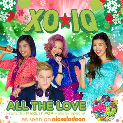 XO-IQ - All The Love (Album Cover)