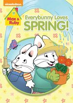 Max & Ruby - Everybunny Loves Spring! DVD Cover