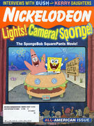 Nickelodeon Magazine cover November 2004 SpongeBob SquarePants movie