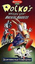 Rocko MachineMadness VHS Sony