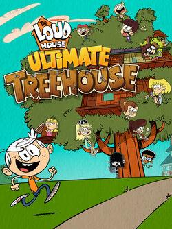Loud-House-Ultimate-Treehouse-Game-Logo-Title-Screen-Nickelodeon-Nick-iPad-Screenshot 1