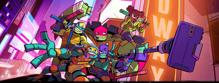 Rise of the Teenage Mutant Ninja Turtles Titelbild