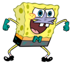 SpongeBob as Mermaid Man