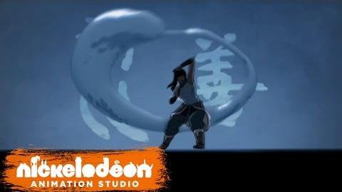 """The Legend of Korra"" Theme Song (HQ) Episode Opening Credits Nick Animation"
