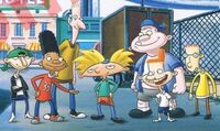 The main boy characters on Hey Arnold in 2018