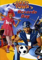 LazyTown - Records Day DVD Cover