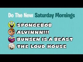 Do the New Saturday morning line-up
