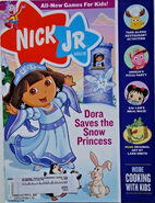 Nick Jr Magazine cover November 2008