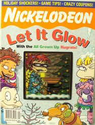 Nickelodeon Magazine cover December January 2004 All Grown Up Rugrats