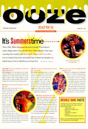 Marc Summers interview Ooze News Double Dare Nick Mag June July 1994