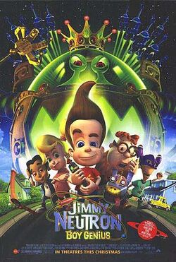 Jimmy Neutron Boy Genius film