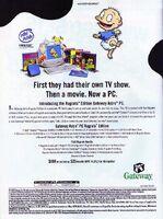 Rugrats computer print ad