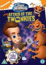 Jimmy Neutron DVD = Attack Of The Twonkies